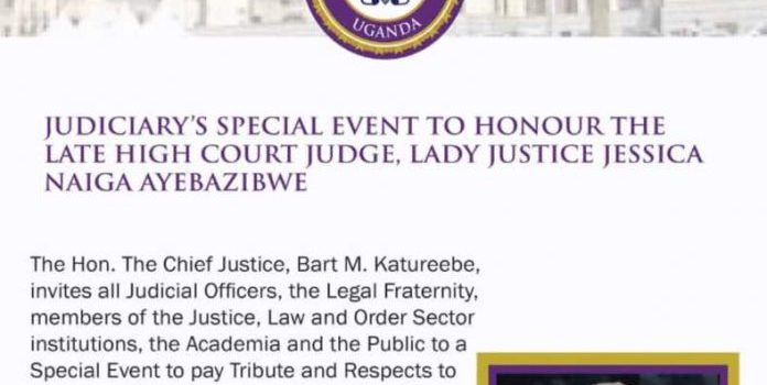 Justice Naiga to get Official Funeral