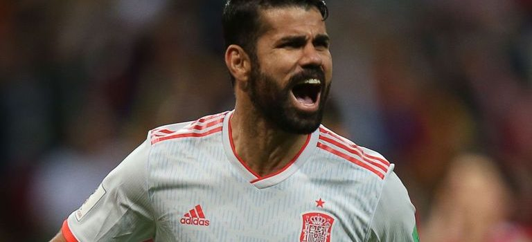 World Cup: Diego Costa Scores  as Spain overcomes Iran