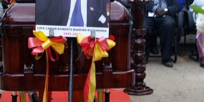 Former Mbarara mayor, Robert Rutehenda to be laid to rest today
