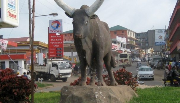 Mbarara 'amahembe gente' round about  to be re-designed