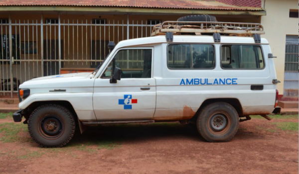 Kazo health center IV gets new Ambulance