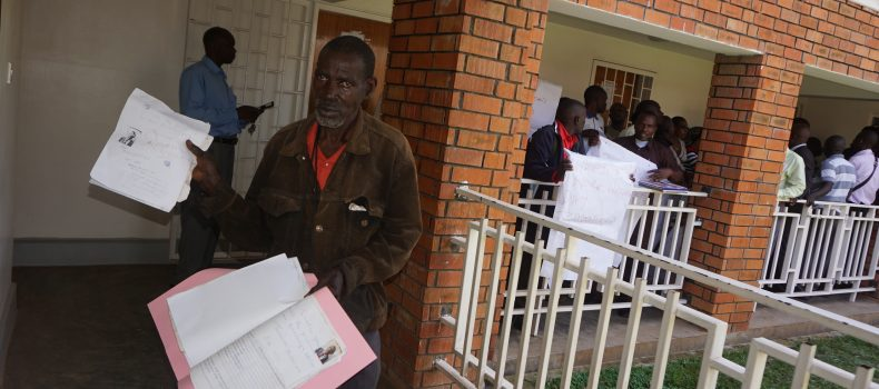 Civil Servants Storm Ntungamo District Headquarters Over Unpaid Salaries