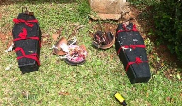 Nairobi thugs sleep in coffins to escape bullets
