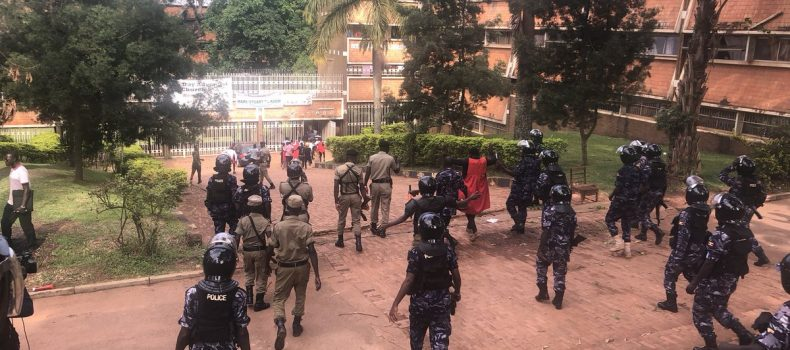 Makerere Suspends Three Students After fees Protests