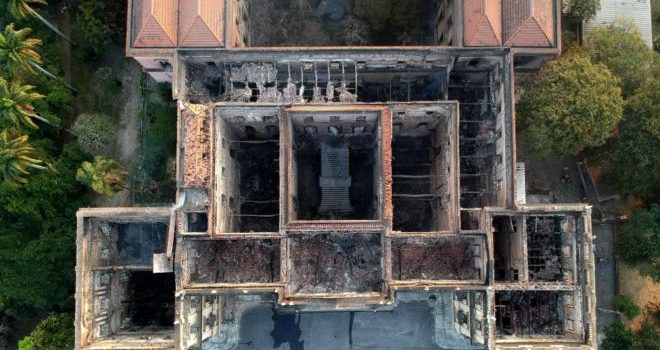 Brazil museum fire: Funding sought to rebuild collection