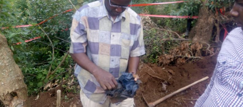 Hand grenade recovered  in Kabale