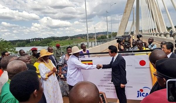 President Museveni says New Nile bridge will reduce congestion
