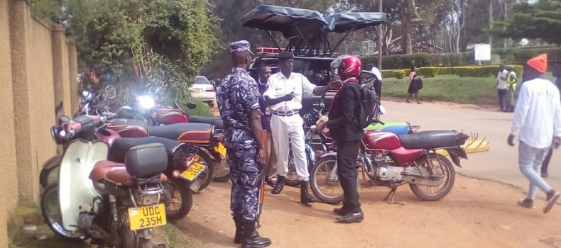 Mbarara Traffic police cautions road users as Christmas draws closer