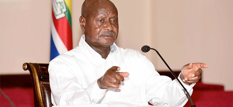 President Museveni re-emphasizes government's commitment to deal with corruption