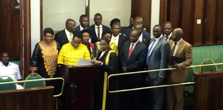 Sheema North Mp elect takes oath