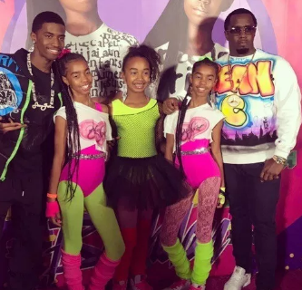 Diddy Celebrates Birthdays of His Twins and Kim Porter.