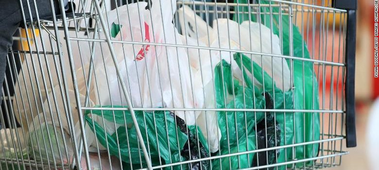 South Korea bans single-use plastic bags from major supermarkets.