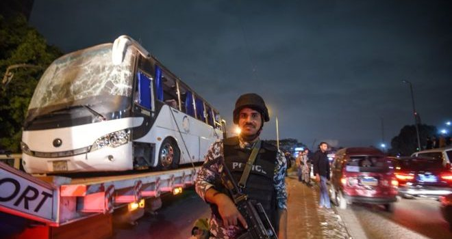 Egyptian Police kills 40 Militants after tourist bus attack