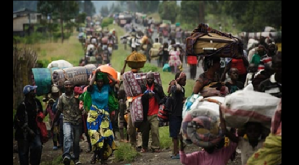 Boko Haram threat displaces 30,000 from Nigeria's Rann town.
