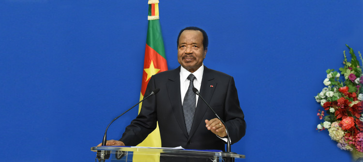Cameroon president ready for dialogue over Anglophone crisis.