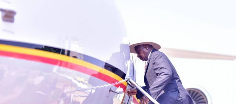 President Museveni travels to Switzerland for World Economic Forum