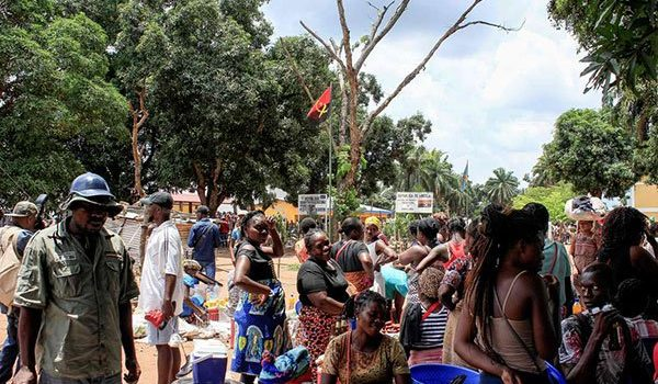 Angola expels 2,248 illegal foreigners.