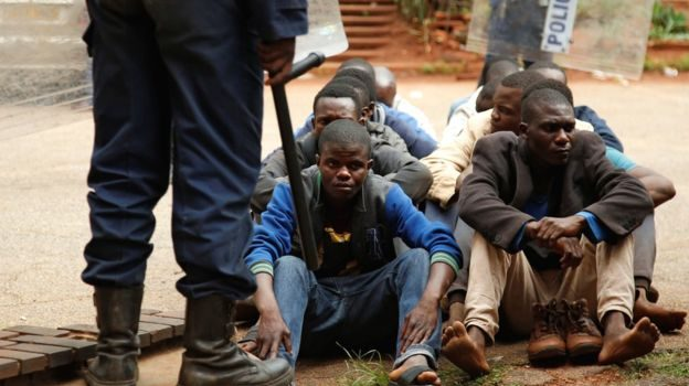 Zimbabwe protests: Crackdown is just a 'taste of things to come'.