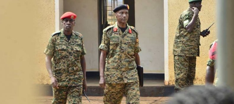 Gen.Kale Kayihura reports to Court Martial, his bail extended