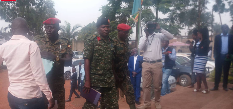 Col. Ndahura released on bail by the Army Court, ordered not to Move beyond Kampala and Wakiso