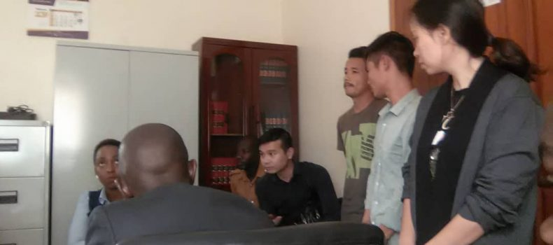 Vietnamese Nationals formally cahrged in Court for illegal possion of Ugx 13.4 billion  Wild Life Species