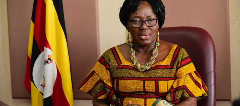 Kadaga appeals for Promotion of the tormented female Police officer