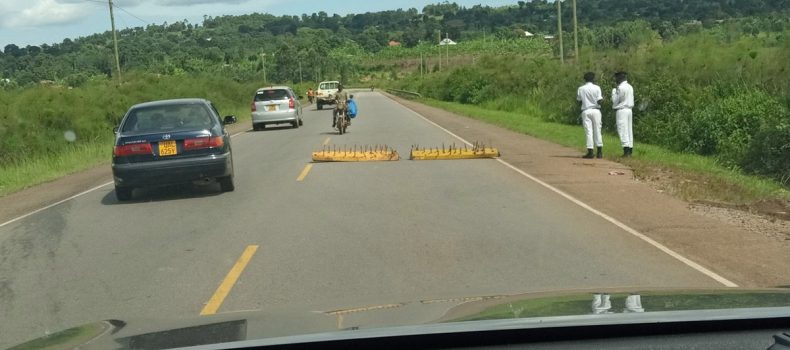 Traffic Police in Mbarara intensifies operations on the road as students return to school
