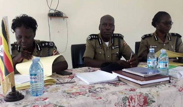 Six police officers on trial over stoning of  President Museveni's car.