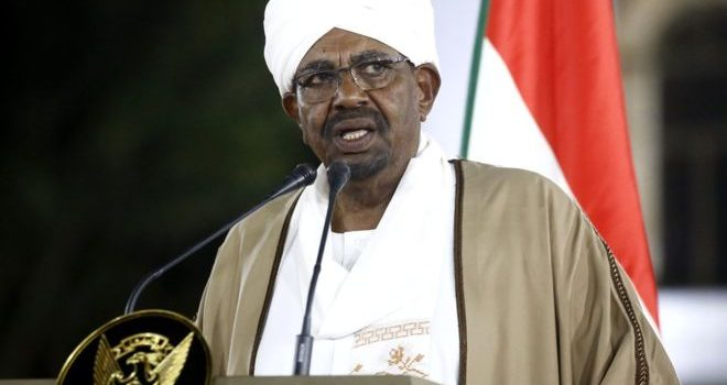 Embattled Bashir steps aside as head of Sudan ruling party.