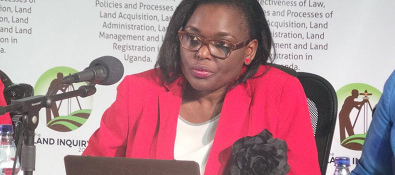 Uganda Road Fund Board Chairperson quizzed over evicting over 100 Bibanja Holders on her late Father in Law's Land