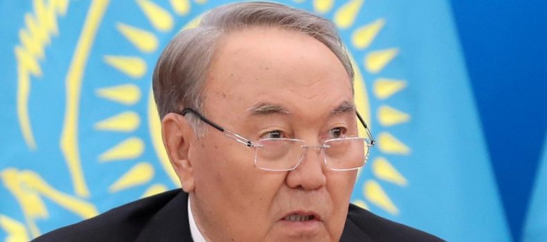 Kazakhstan leader Nazarbayev steps down after three decades in power.