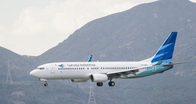 Garuda looks to scrap Boeing 737 Max 8 order after crashes.