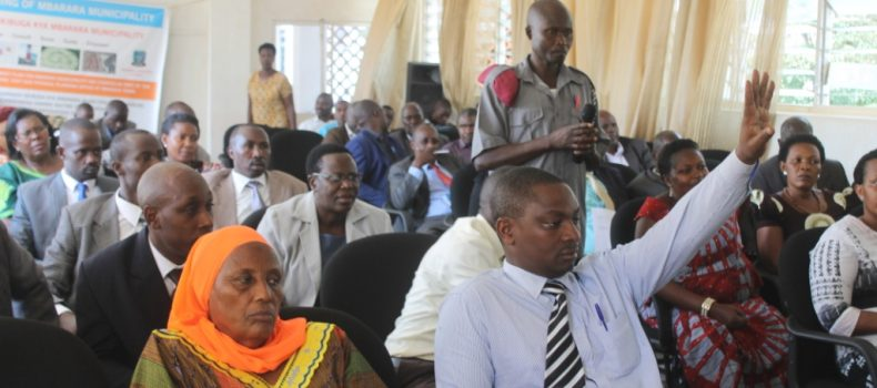 Disagreements between councilors and executive committee in Mbarara municipality have attributed to poor leadership