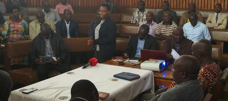 Mbarara district and Municipal leaders meet after Lt.Col. Nakalema's scary arrests