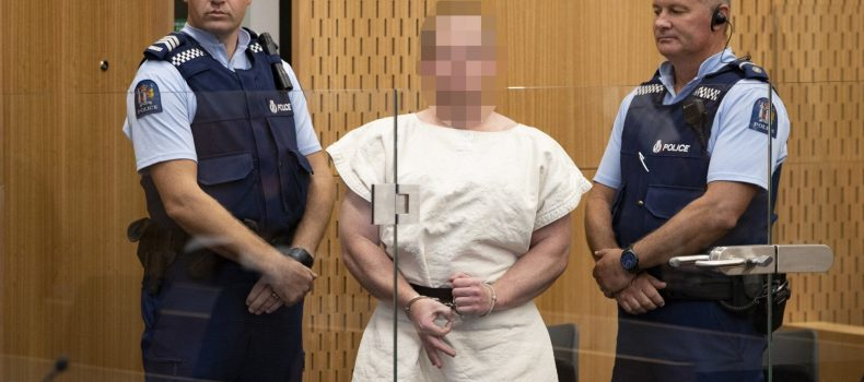 New Zealand Attack suspect  appears in court.