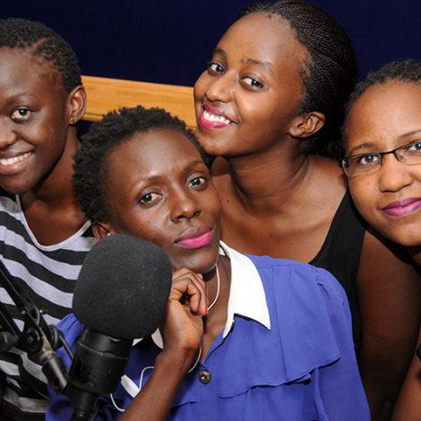 On Air Presenters in Studio