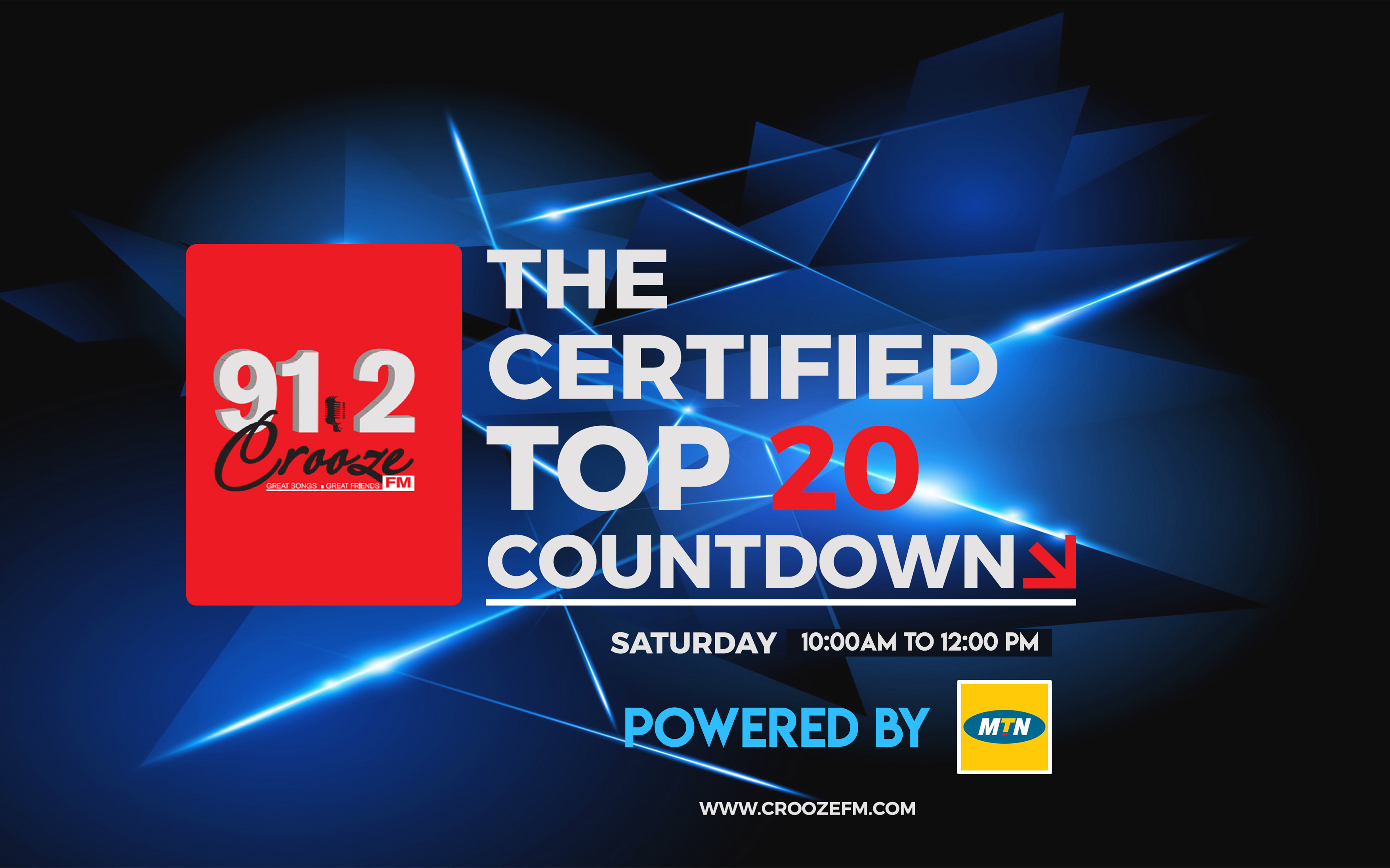 The Certified Weekly Top 20 - Western Uganda's Biggest radio