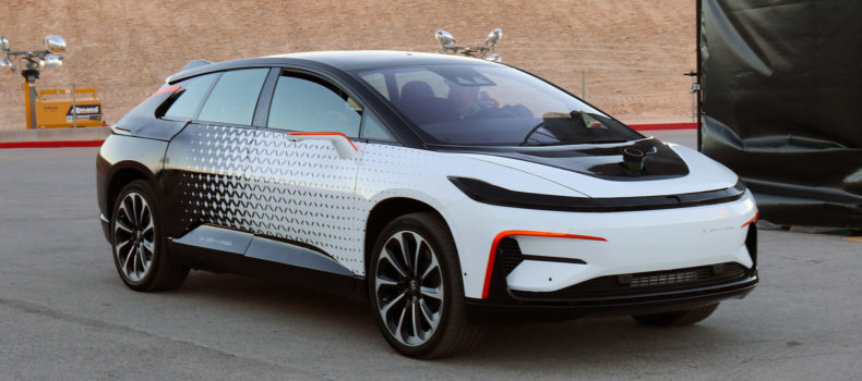 Faraday Future's  has financial problems