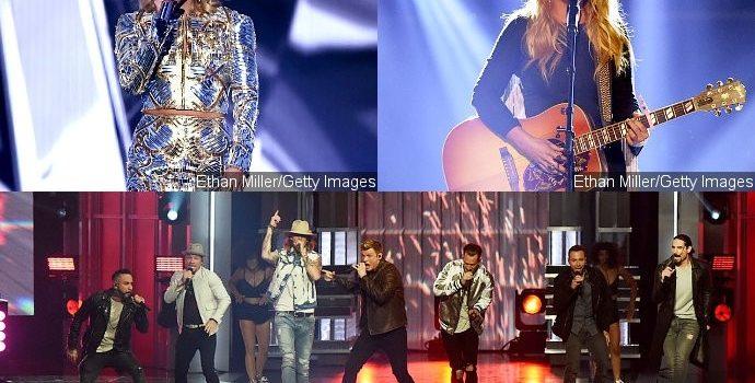 ACM Awards 2017: Watch Performances of Carrie Underwood, Backstreet Boys, Miranda Lambert and More