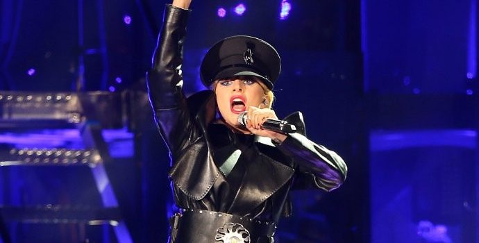 Lady GaGa Debuts New Single 'The Cure' at Coachella