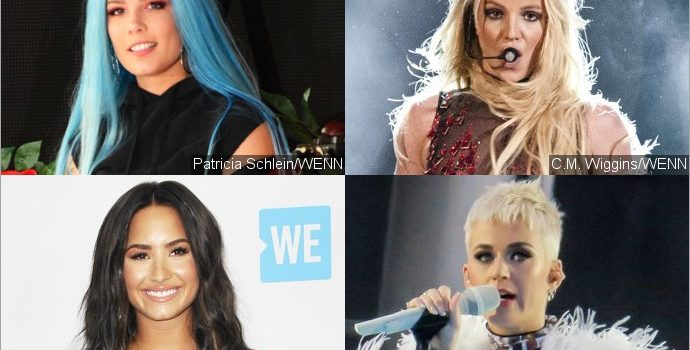 Halsey Shades Britney Spears, Demi Lovato and Katy Perry