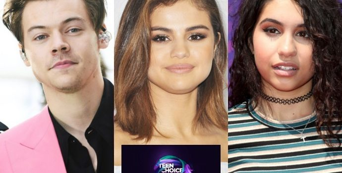 Teen Choice Awards 2017: Harry Styles, Selena Gomez and Alessia Cara Lead Music Nominations