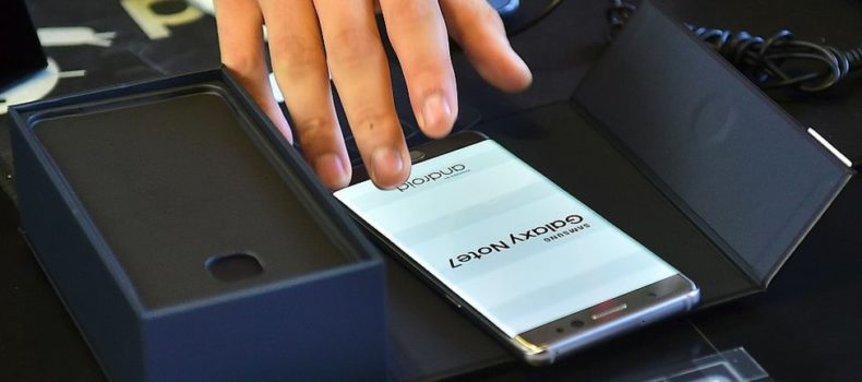 Samsung salvages Galaxy Note 7 parts for new phone