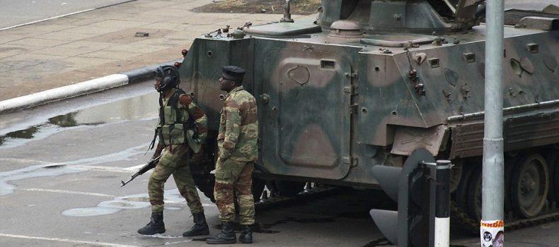 Zimbabwe Army Seize State Tv, Deny Coup
