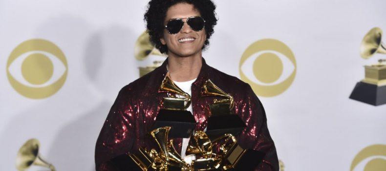 Grammy Awards 2018: Bruno Mars wins big!