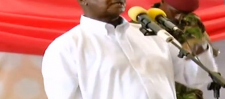 """""""You are a reserve Army not a Kayihura Project""""- Museveni Tells Crime Preventers"""