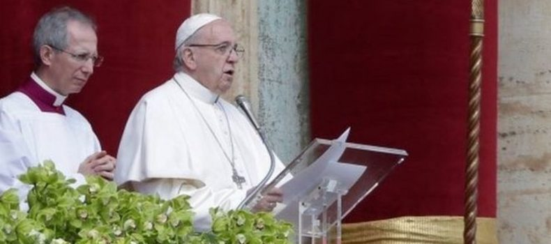 Pope Francis Prays for End of War in Syria, South Sudan and Congo