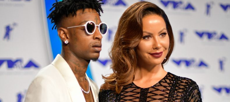 Amber Rose reportedly cheated on 21 with one of his friends.