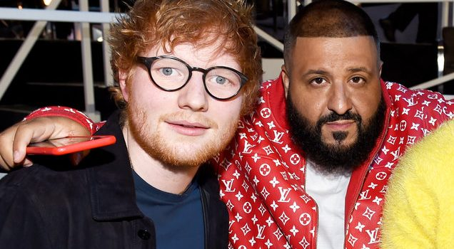 Ed Sheeran's 'Perfect' & DJ Khaled's 'I'm the One' Reach 1 Billion