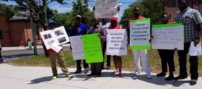 Ugandan Diaspora Protest Against Anite's Admission to US University